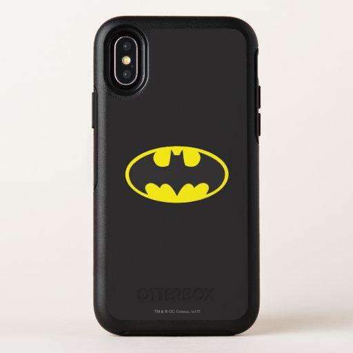 Batman Symbol | Bat Oval Logo OtterBox Symmetry iPhone X Case