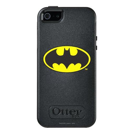 Batman Symbol | Bat Oval Logo OtterBox iPhone 5/5s/SE Case