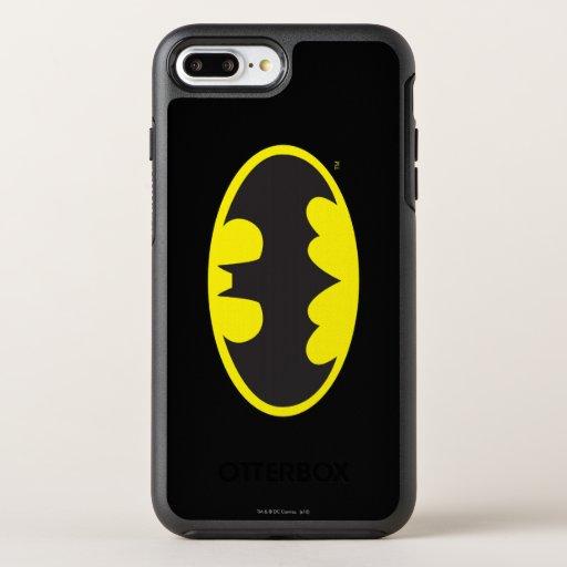 Batman Symbol | Bat Oval Logo OtterBox Symmetry iPhone 8 Plus/7 Plus Case