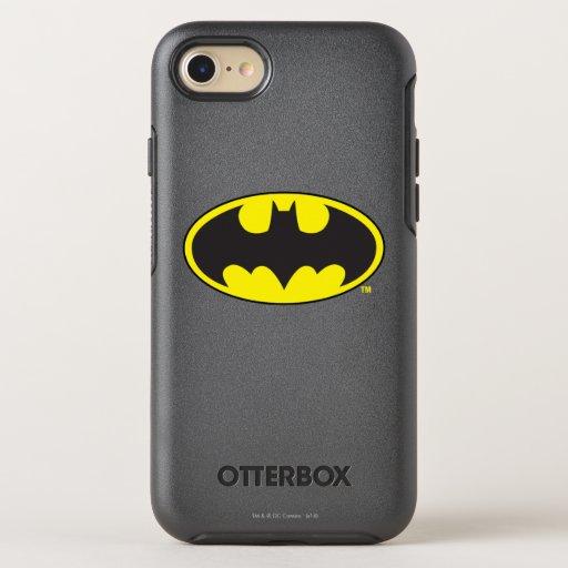 Batman Symbol | Bat Oval Logo OtterBox Symmetry iPhone SE/8/7 Case