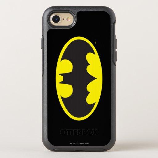 Batman Symbol | Bat Oval Logo OtterBox Symmetry iPhone 8/7 Case