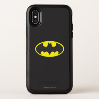 Batman Symbol | Bat Oval Logo OtterBox Symmetry iPhone X Case