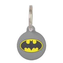 Batman Symbol | Bat Oval Logo Pet ID Tag