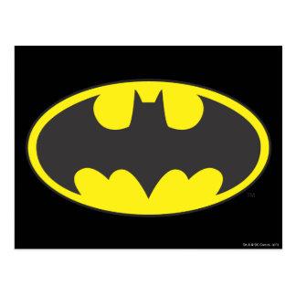 Batman Symbol   Bat Oval Logo Postcard
