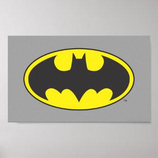 Batman Symbol | Bat Oval Logo Poster