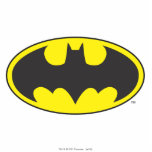 "Batman Symbol | Bat Oval Logo Statuette<br><div class=""desc"">DC Originals - DC Comics</div>"