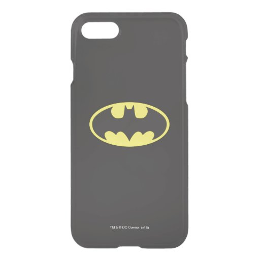 Batman Symbol | Bat Oval Logo iPhone SE/8/7 Case