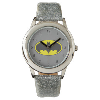 Batman Symbol   Bat Oval Logo Watch
