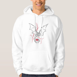 Batman Symbol | Bat Red Black Logo Hoodie