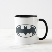 batman, batman logo, batman symbol, batman emblem, yellow and black, joker, the joker, gotham, gotham city, batman movie, bat, bats, super hero, super heroes, hero, heroes, villians, villian, batman art, batman comics, comic, batman comic, dc batman, batman villians, the penguin, penguin, the roman, falcone, the boss, boss, corrupt, two-face, two face, harvey dent, catwoman, hush, scarecrow, the mad hatter, mister freeze, mr freeze, robin, Mug with custom graphic design
