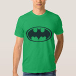 Batman Symbol   Black and White Logo T-Shirt