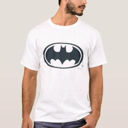 Batman Symbol | Black and White Logo T-Shirt