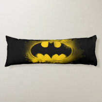 Batman Symbol | Black and Yellow Logo Body Pillow