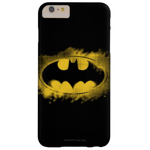 Batman Symbol | Black and Yellow Logo Barely There iPhone 6 Plus Case