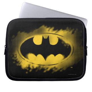 Batman Symbol | Black and Yellow Logo Computer Sleeve