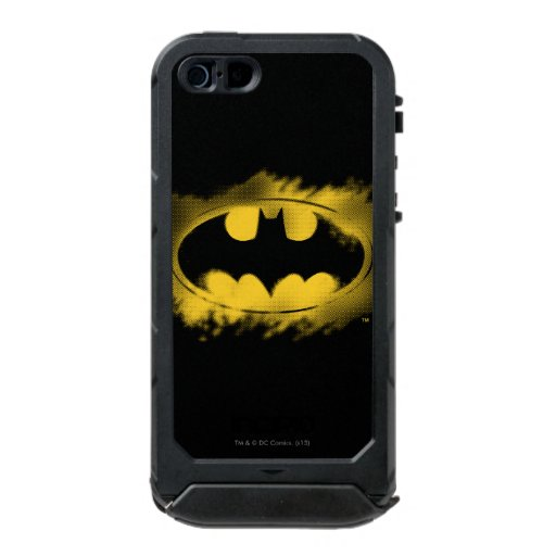 Batman Symbol | Black and Yellow Logo Waterproof iPhone SE/5/5s Case