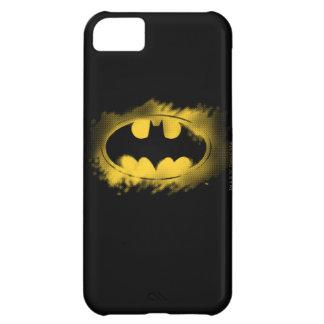Batman Symbol | Black and Yellow Logo iPhone 5C Cover
