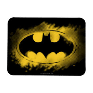 Batman Symbol | Black and Yellow Logo Magnet