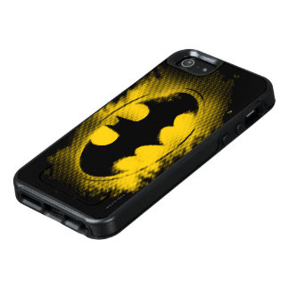 Batman Symbol | Black and Yellow Logo OtterBox iPhone 5/5s/SE Case
