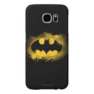 Batman Symbol | Black and Yellow Logo Samsung Galaxy S6 Case