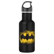 Batman Symbol | Black and Yellow Logo Stainless Steel Water Bottle