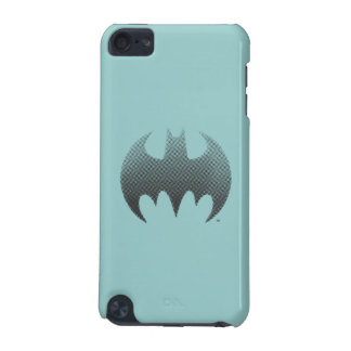 Batman Symbol | Black White Fade Logo iPod Touch (5th Generation) Case