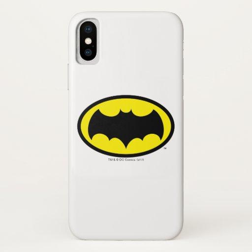 Batman Symbol iPhone X Case