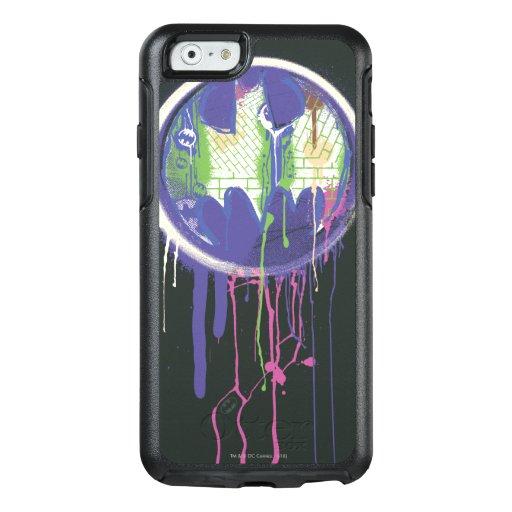 Batman Symbol | Circle Purple Logo OtterBox iPhone 6/6s Case