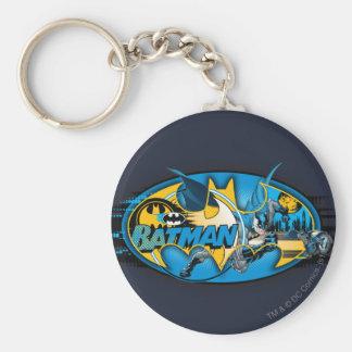 Batman Symbol | Classic Collage Logo Keychain