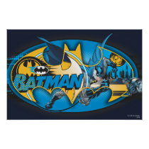 Batman Symbol | Classic Collage Logo Poster
