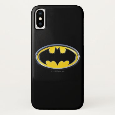 Batman Symbol | Classic Logo iPhone XS Case