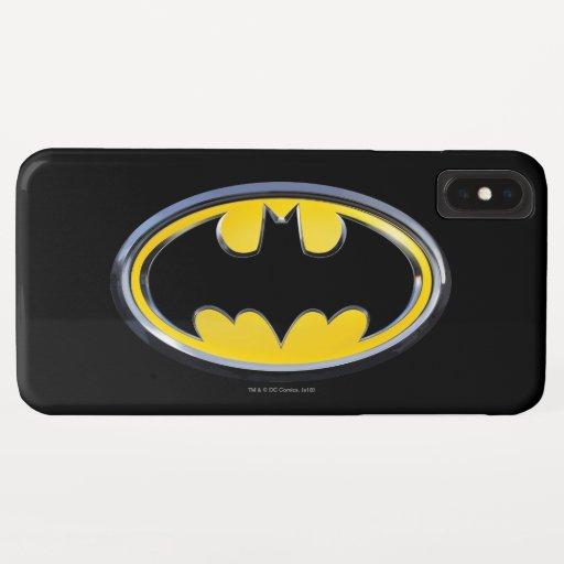 Batman Symbol | Classic Logo iPhone XS Max Case