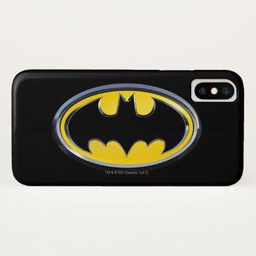 Batman Symbol | Classic Logo iPhone X Case