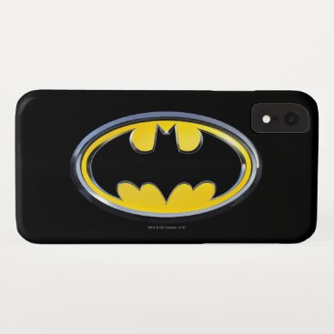 Batman Symbol | Classic Logo iPhone XR Case
