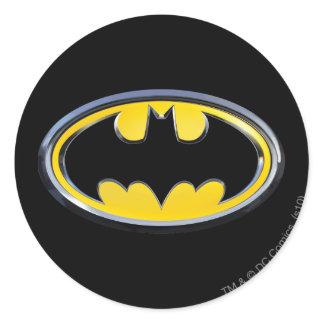 Batman Symbol | Classic Logo Classic Round Sticker