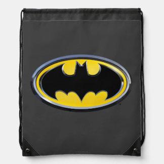 Batman Symbol | Classic Logo Drawstring Bag