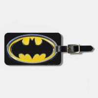 Batman Symbol   Classic Logo Luggage Tag