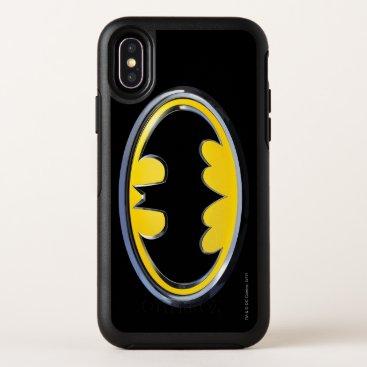 Batman Symbol | Classic Logo OtterBox Symmetry iPhone X Case