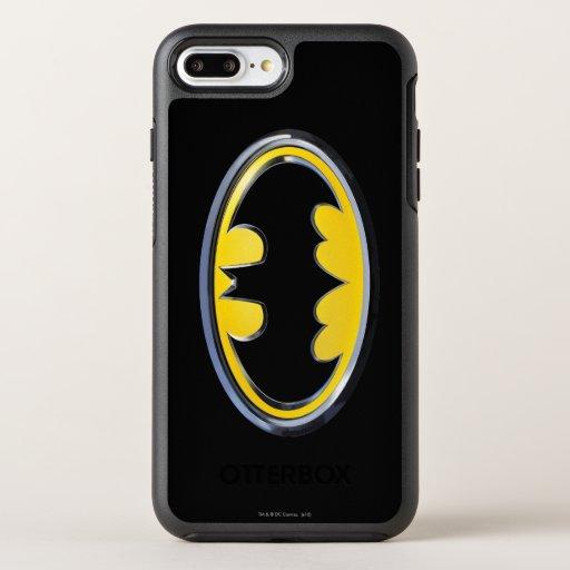 Batman Symbol | Classic Logo OtterBox Symmetry iPhone 8 Plus/7 Plus Case