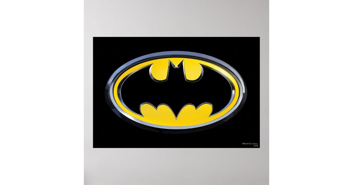 Batman Symbol Classic Logo Poster Zazzle