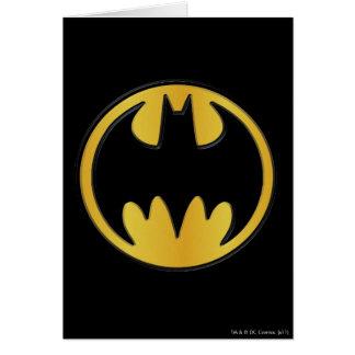 Batman Symbol | Classic Round Logo Card