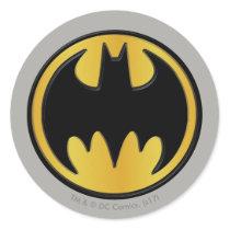 Batman Symbol | Classic Round Logo Classic Round Sticker