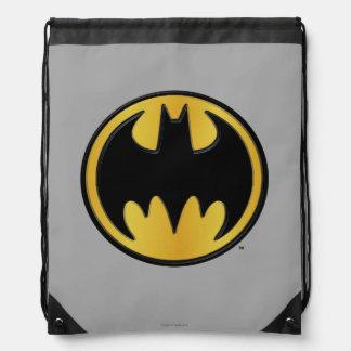 Batman Symbol | Classic Round Logo Drawstring Bag