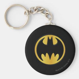 Batman Symbol | Classic Round Logo Keychain