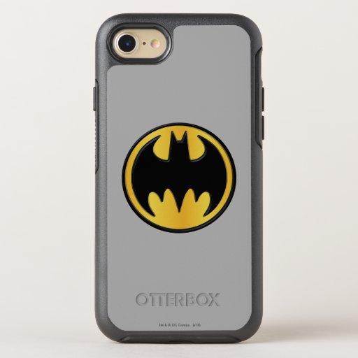 Batman Symbol | Classic Round Logo OtterBox Symmetry iPhone SE/8/7 Case