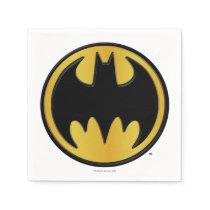 Batman Symbol | Classic Round Logo Paper Napkin