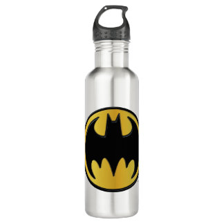 Batman Symbol | Classic Round Logo Water Bottle