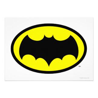 Batman Symbol Custom Invites