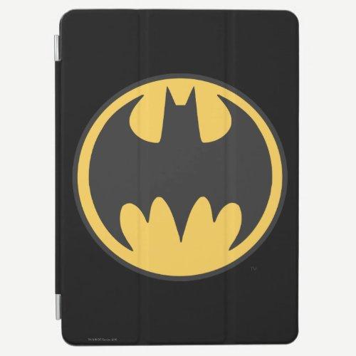 Batman Symbol | Dark Yellow Circle Logo iPad Air Cover