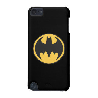 Batman Symbol | Dark Yellow Circle Logo iPod Touch (5th Generation) Case